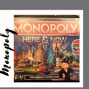 Monopoly: Here and Now Edition. New in Box!